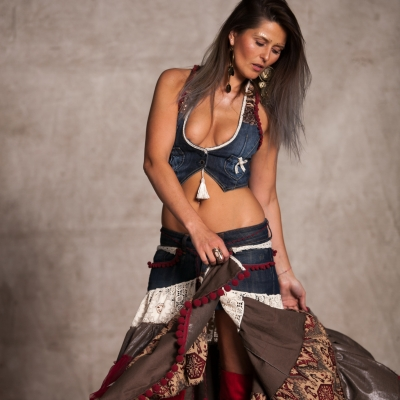 Gypsy woman's vest - exclusive for FM