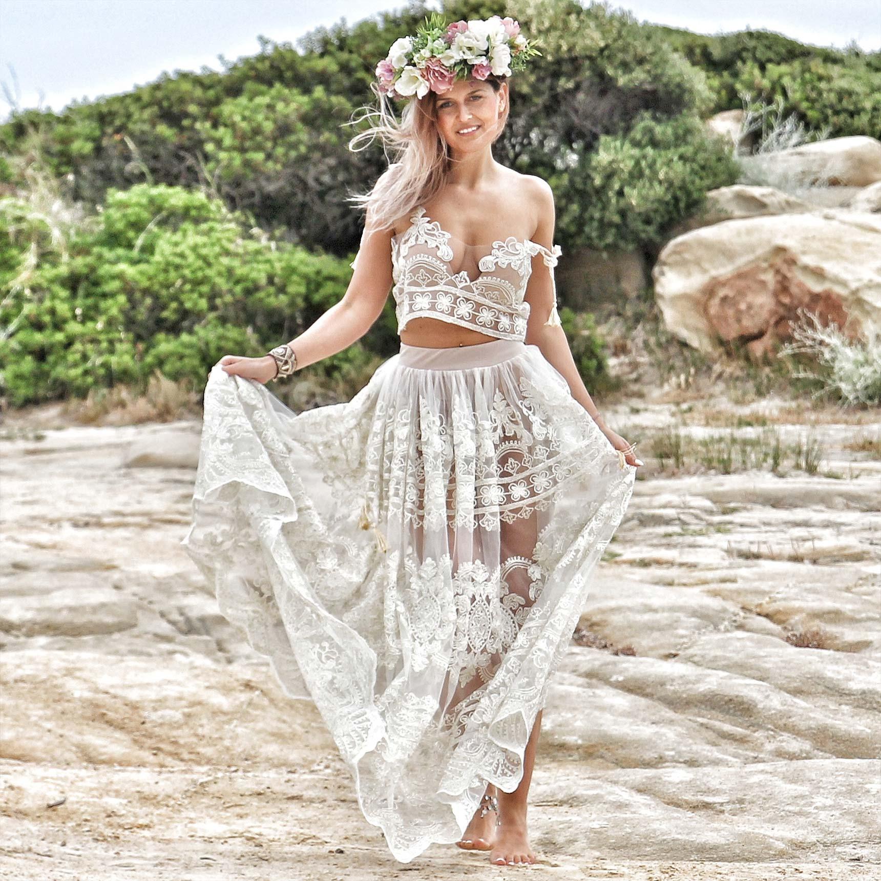 Sklep Z Odzieżą Boho Suknie ślubne Boho Sukienki Do Chrztu Boho
