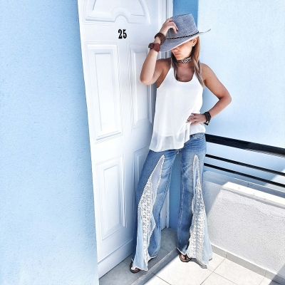 Hippie jeans - exclusive for Fashion Magazine