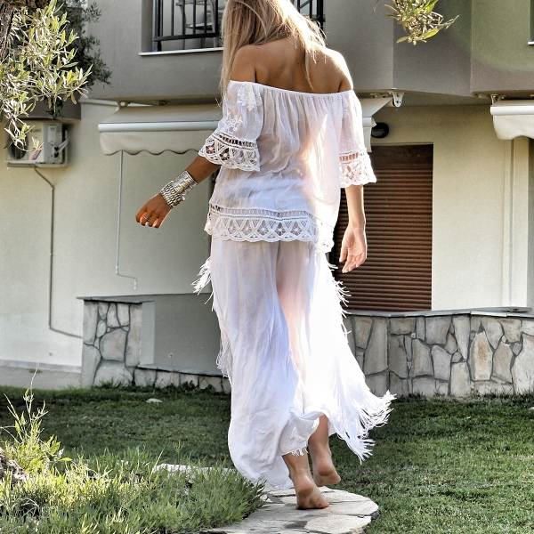 Boho trousers White Swan