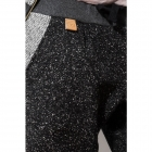 Ciemnoszare wełniane spodnie jesień / zima