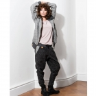 Deep grey wool trousers