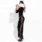 Straight stripe trousers