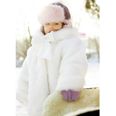 Baby coat - color ecru